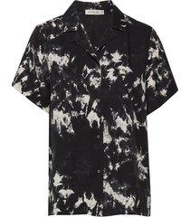 muntha pr blouses short-sleeved svart tiger of sweden jeans