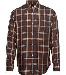 errico pocket 5164 overhemd casual bruin nn07