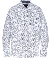 long sleeve shirt cf print bright white