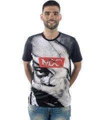 camiseta mxc brasil full print - masculino
