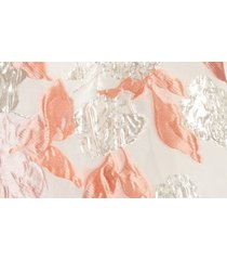 women's mark + james by badgley mischka reo brocade floral dress, size 2 - coral