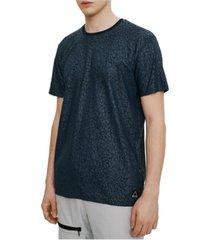 eleven paris men's rubber print short sleeve t-shirt