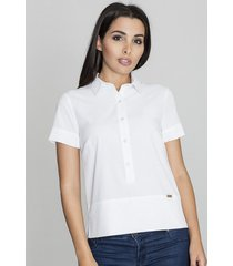 bluzka koszulowa na guziki