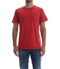 premium by jack&jones 12121595 washed tee t shirt and tank men red