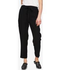 1.state cropped drawstring pants