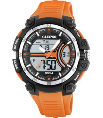 reloj street style naranja calypso