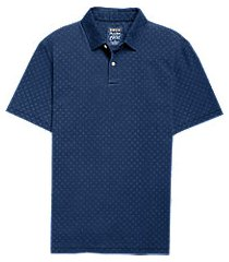 1905 collection traditional fit diamond pattern short-sleeve men's polo shirt - big & tall clearance