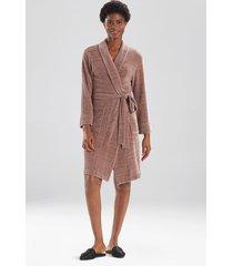 escape sleep/lounge/bath wrap/robe, women's, grey, size s, n natori