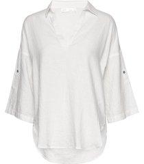 brizaiw shirt blouse lange mouwen wit inwear