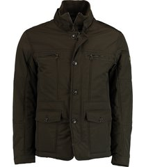 bos bright blue eric jacket 19301er12sb/368 olive