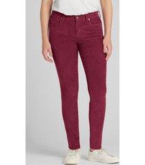jeans true skinny cotele mujer morado gap