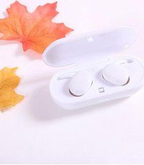 audífonos bluetooth impermeables música con micrófono - blanco