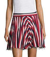 my darling striped mini skirt