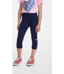 capri leggings bright butterfly - blue - l