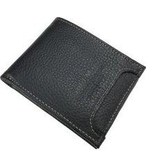 carteira masculina em couro 6209md
