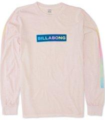 billabong men's raygun logo long sleeve t-shirt