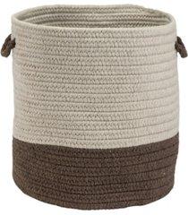 colonial mills sunbrella coastal braided basket