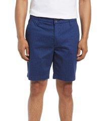 ag wanderer print chino shorts, size 40 in maddox deep navy/unity blu at nordstrom