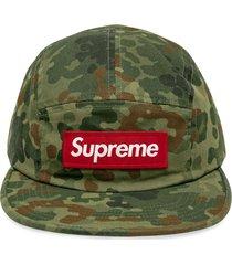 supreme military camp cap - green