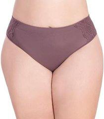 calcinha nayane rodrigues gestante modelo tanga com cintura alta linha mãe feminina - feminino