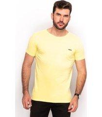 camiseta t shirt algodão masculina lisa dia a dia conforto - masculino