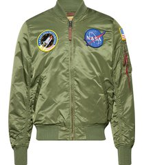 ma-1 vf nasa bomberjack jack groen alpha industries