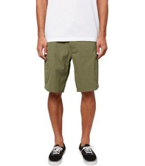 o'neill traveler cargo shorts, size 36 in army at nordstrom