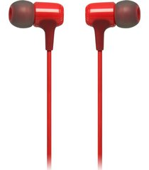 audífonos jbl e15, in ear rojo