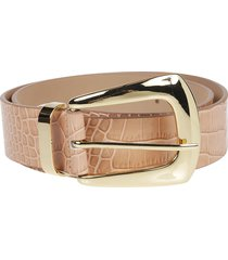 b-low the belt cintura jordana mini croco