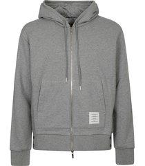 thom browne hoodie zip-up pullover