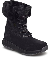womens outdoors ultra - waterproof shoes boots ankle boots ankle boot - flat svart skechers