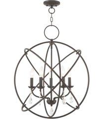 """livex aria 5 light 22"""" pendant"""