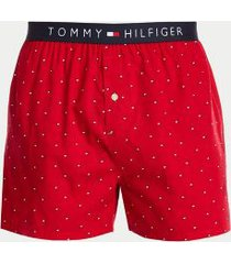 tommy hilfiger men's cotton classics boxer single pack red - s