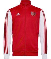 afc 3s trk top sweat-shirt trui rood adidas performance