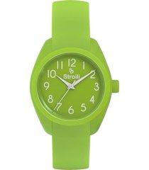 orologio solo tempo in silicone per donna