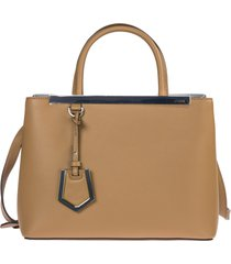 borsa donna a mano shopping in pelle petite 2jours