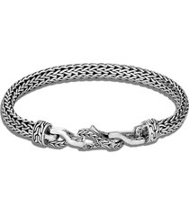 'asli classic chain' sterling silver bracelet