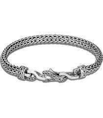 'asli classic chain' sterling silver bracelet