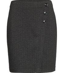 skirts woven kort kjol grå esprit casual