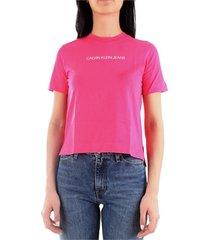 calvin klein j20j212879 t-shirt women rose