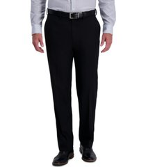 j.m. haggar men's classic-fit stretch heather diamond dress pants