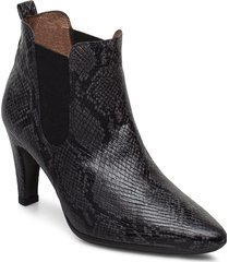 m-4206 shoes boots ankle boots ankle boots with heel grå wonders