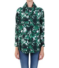 kenzo aquarelle blouse shirt