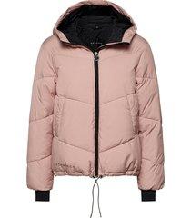 alba puffer jacket fodrad jacka rosa röhnisch