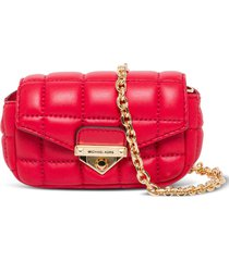 michael kors soho quilted leather bag charm