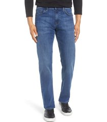 men's mavi jeans zach straight leg jeans, size 31 x 34 - blue