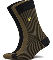 scotty underwear socks regular socks multi/mönstrad lyle & scott