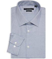 spencer regular-fit check dress shirt