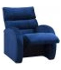 poltrona reclinável camaro azul