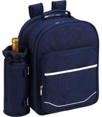 picnic at ascot deluxe 4 person picnic backpack cooler with insulated wine pouch